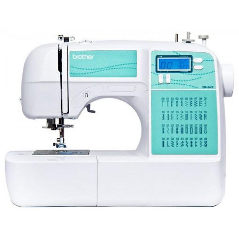 Швейная машина Aurora Style 5 белый голубой